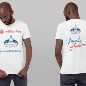 March for America T-shirt Front and Back