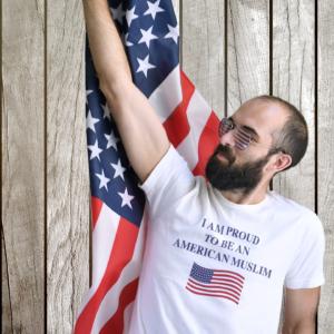 Proud American Muslim T-Shirt